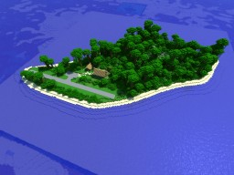 Small Pacific Island Minecraft