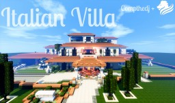 Italian Mansion | Collaboration With _Cailan_ Minecraft Map & Project