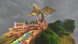 -=Drakonis  Swampland=- Dragonkeeper's Quarters {Plot Build} Minecraft Map & Project