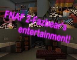 FNAF 2 Pizzeria Minecraft Map & Project