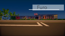 Furo - A Japanese Industrial Modern House Minecraft Map & Project