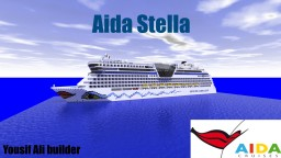 Aida Stella [1:1 Scale Cruise Ship] + Download Minecraft Map & Project