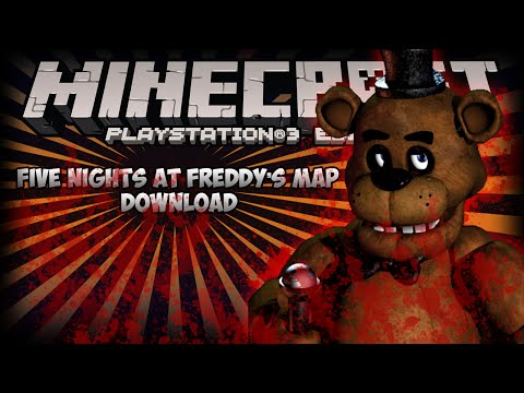 Five Nights At Freddys Ps3 Ps4 Minecraft Map