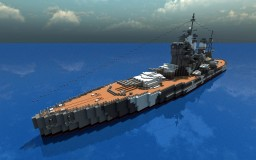 HMS King George V - Battleship Minecraft Map & Project