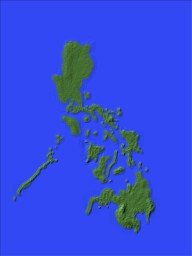 The Philippines (1024 x 768 scale model) Minecraft Map & Project
