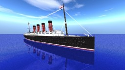 RMS Lusitania OUTDATED! Minecraft