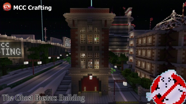 Ghost Busters Building Fire House Station  Los Block Santos