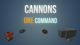 Cannons in one command! Minecraft Project