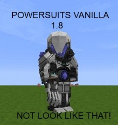 Vanilla PowerSuits 1.8 Minecraft