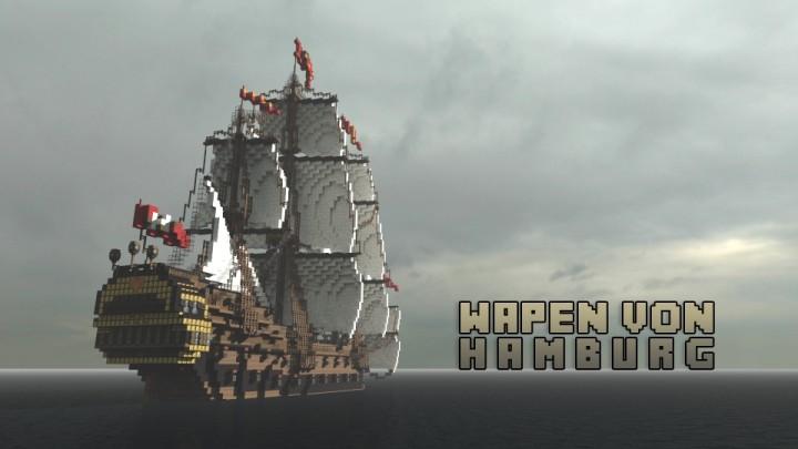 [Карта] Wapen von Hamburg