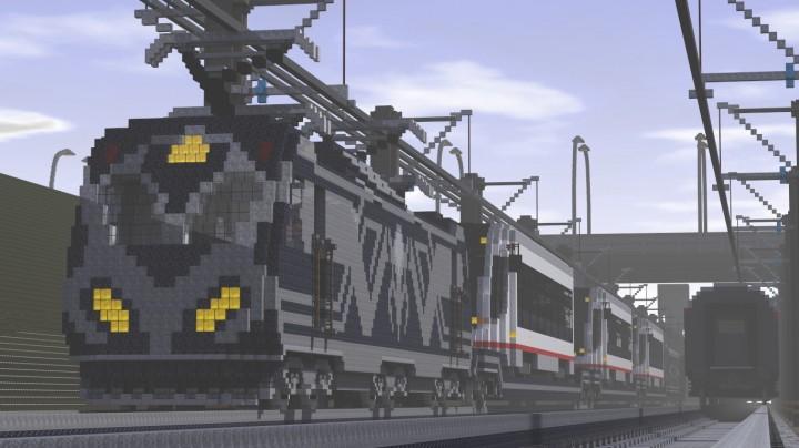 [Карта] Train SCRM - поезд