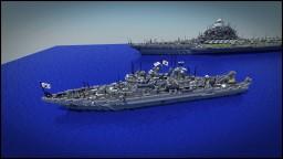 AU Sunosaki Class MineSweeper Minecraft Map & Project