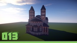 Small white church Minecraft Map & Project