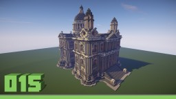 White town hall Minecraft