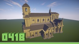 Minster St. Vitus (Münster Mönchengladbach) [smaller version] Minecraft Map & Project
