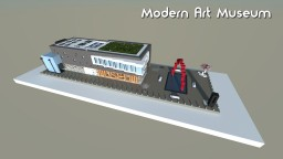 Modern art museum Minecraft Map & Project