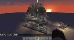 Ruins with Beacon Minecraft Map & Project