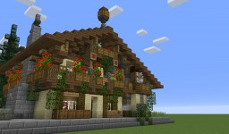 Bavarian/Austrian House (Download) Minecraft Map & Project