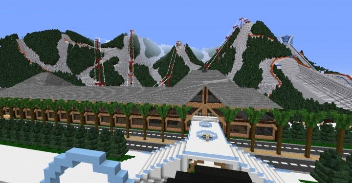 Скачать карту Modern City для Minecraft