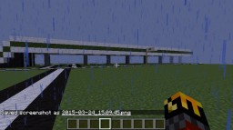 A Minecraft Highway (OLD Version) Minecraft Map & Project