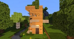 5x5 house Minecraft Map & Project