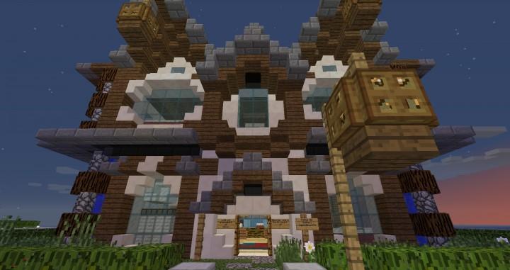 Maison Style Medieval Minecraft
