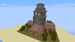 Ultimate Beacon Tower Home Minecraft Map & Project