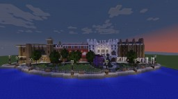 Universal Studio's Diagon Alley Minecraft Map & Project
