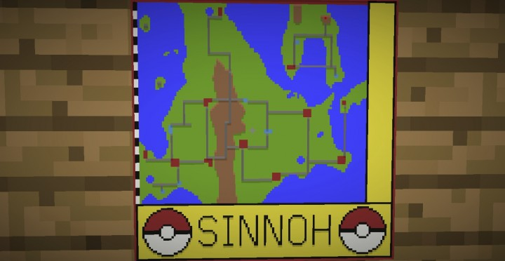 pok233mon sinnoh region minecraft project