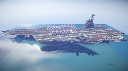 USS Enterprise CVN-80 Minecraft