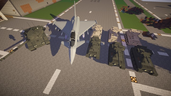 Update 1 content, left to right, Chieftain, Typhoon, Scorpion, Scorpion 90, Scimitar