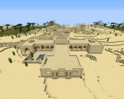 Magnific Desert Manor Minecraft Map & Project