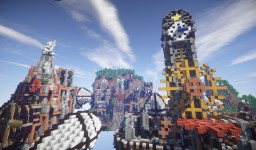 Steam Punk Sky Build Minecraft Map & Project