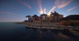 Alpine Islands - Tropical resort Minecraft Map & Project