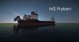 [REAL] MS Fryken (freighter) + Schematic Minecraft