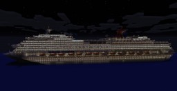 Carnival Splendor - Mega Build (1.7:1 Scale) with Full Interior *HIGH DETAIL* Minecraft Map & Project