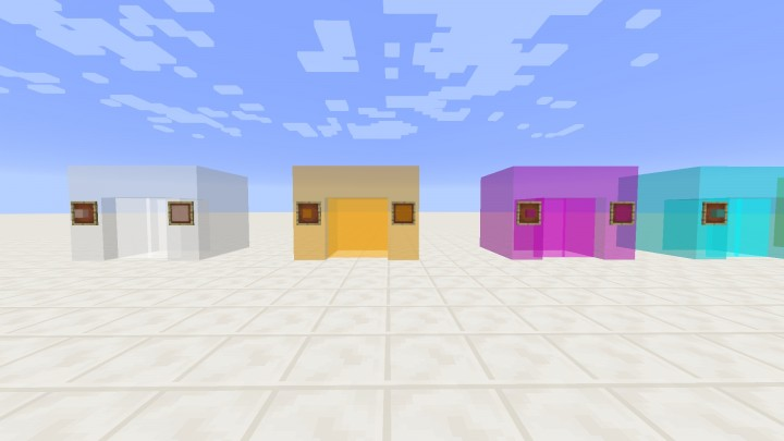 Invisible Glass v.1.1 Minecraft Texture Pack