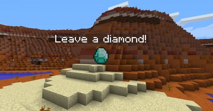 Leave a diamond!