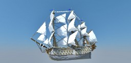 Eternal Winter - Sailing warship Minecraft Project