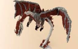 Re'Deus Dragon Organic Minecraft Map & Project