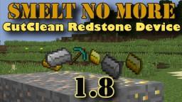 Smelt No More! {CutClean Vanilla Plugin} (Schematic) [1.8] Minecraft Map & Project
