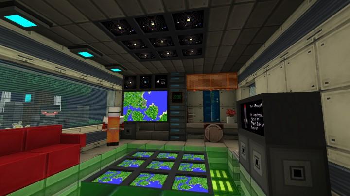 A Galacticraft base