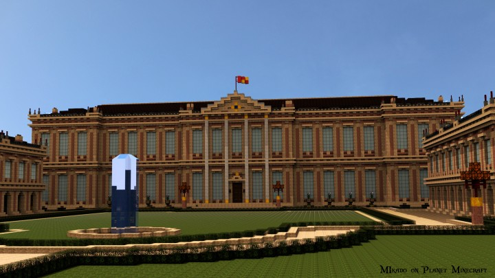 Ch teau de morangy minecraft project - Chateau de minecraft ...