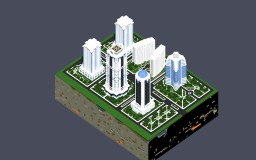 Grozny city center [WIP] Minecraft Map & Project