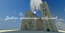Italian romanesque cathedral Minecraft Map & Project