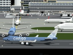 Boeing 747-400ERF  -  KLM Cargo Minecraft Map & Project