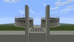 Minecraft Stadium - Megabuild - Olympiastadion (berlin olympic stadium) Minecraft Map & Project