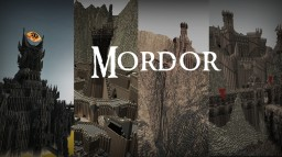 LOTR - Mordor Minecraft Map & Project