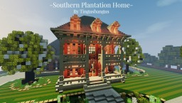 Southern Plantation Home|TMA|WoK [350 Subs] Minecraft Project