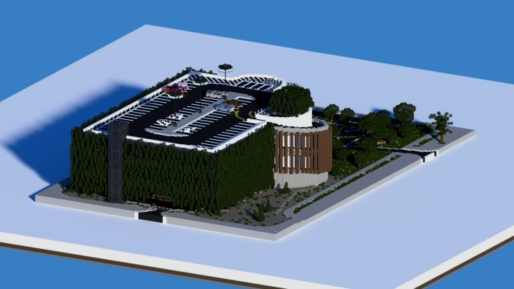 Multistorey Car Park Thevisual Play Minecraft Project